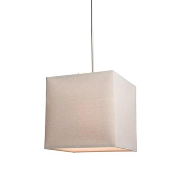 Steven & Chris by Artcraft 2-Light Mercer White Large Pendant Light