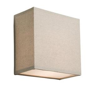 Steven & Chris by Artcraft Lighting  Mercer Street 10-in x 10-in Oatmeal Wall Sconce