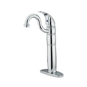 Elements of Design Baltimore 14.25-in Polished Chrome Bathroom Sink Faucet