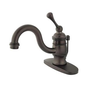 Elements of Design Hot Springs  3.12-in Oil Rubbed Bronze Single Handle Faucet