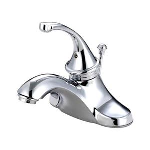 Elements of Design Georgian 5.25-in Polished Chrome Centerset Faucet