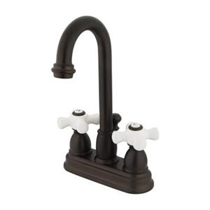 Elements of Design Chicago 10-in Oil Rubbed Bronze Deck Centerset Faucet