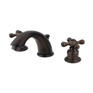 Elements of Design 2.75-in Oil-Rubbed Bronze Widespread Faucet