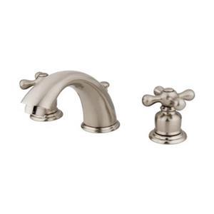Elements of Design 2.75-in Satin Nickel Widespread Faucet
