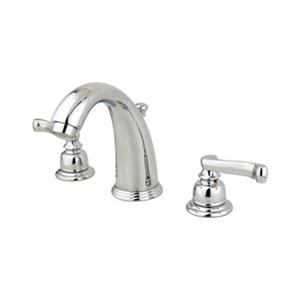 Elements of Design Magellan 4.5-in Chrome Twin Handle Widespread Faucet