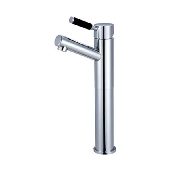 Elements of Design Kaiser 9.5-in Polished Chrome Deck Mount Faucet
