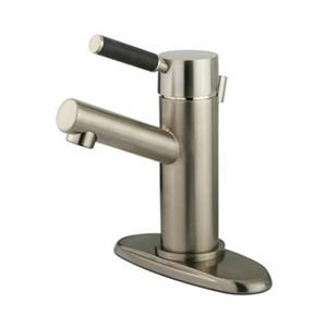 Elements of Design Kaiser 4.38-in Satin Nickel Deck Mount Faucet