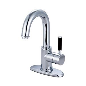 Elements of Design Kaiser 7-in Polished Chrome Deck Mount Faucet