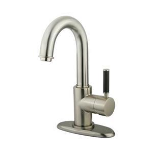 Elements of Design Kaiser 7-in Satin Nickel Deck Mount Faucet