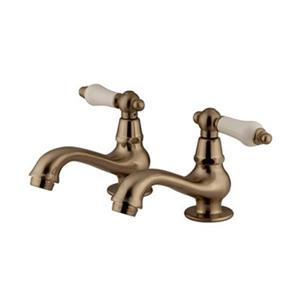 Elements of Design Herritage Collection Satin Nickel Comes Pairs Basin Faucet