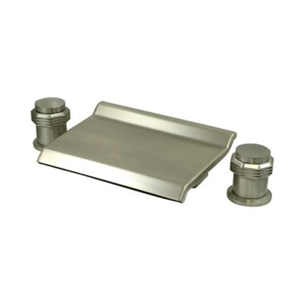 Elements of Design Satin Nickel Two Handle Roman Tub Faucet