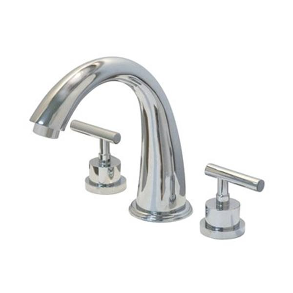 Elements of Design Manhattan 7.1-in Polished Chrome Roman Tub Filler