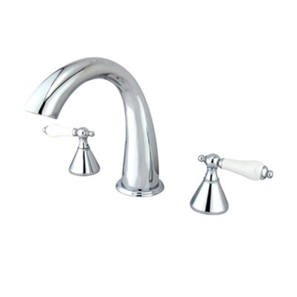 Elements of Design 7-in Chrome Roman Tub Filler