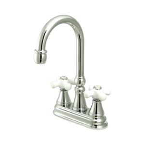 Elements of Design Chrome Without Pop-Up Road Bar Faucet