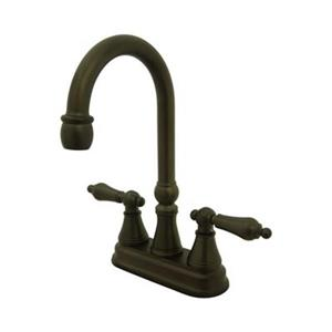 Elements of Design Oil-Rubbed Bronze Without Pop-Up Rod Bar Faucet