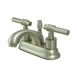 Elements of Design Nickle Deck Centerset Faucet