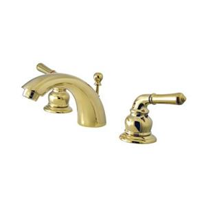 Elements of Design Brass Mini Widespread Faucet