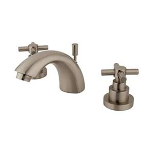 Elements of Design Nickle Mini Widespread Faucet