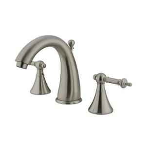 Elements of Design Nickel Widespread Lavatory Faucet