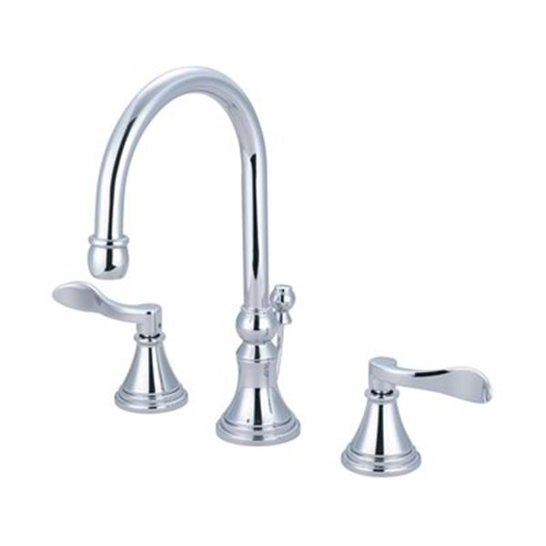 Elements of Design NuFrench Chrome Widespread Lavatory Faucet