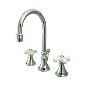 Elements of Design Chrome Widespread Lavatory Faucet