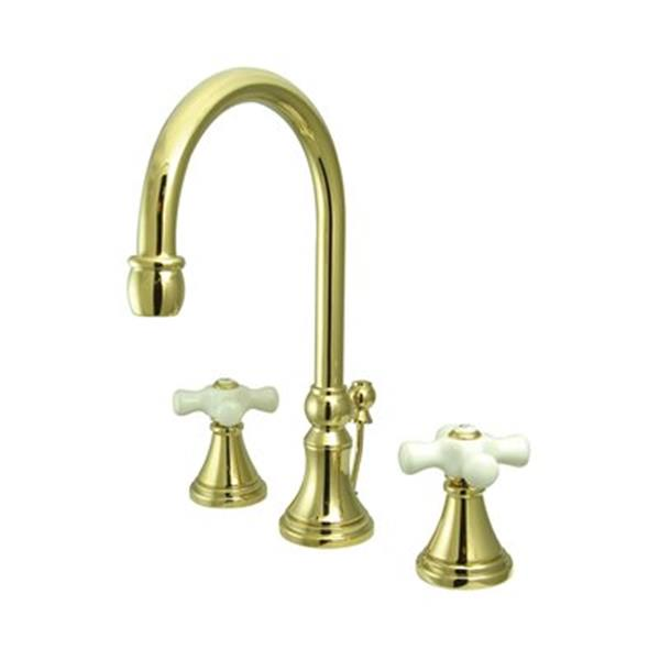 Elements of Design Brass Widespread Lavatory Faucet