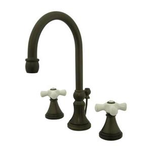 Elements of Design Bronze Widespread Lavatory Faucet