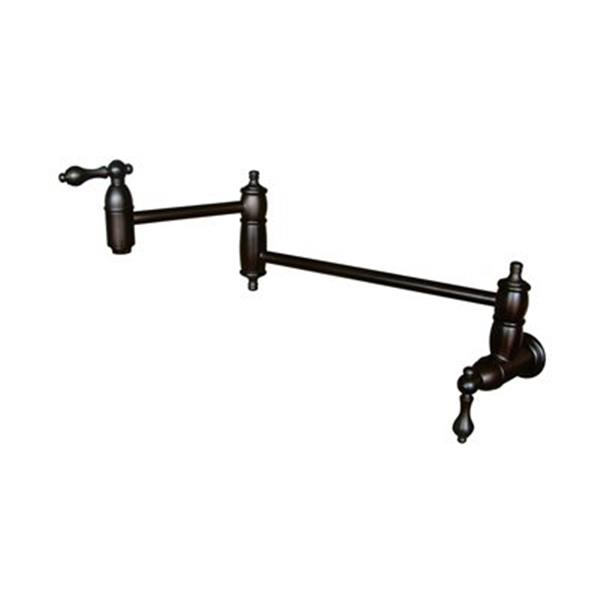 Elements of Design Oil-Rubbed Bronze Restoration Pot Filler Kitchen Faucet