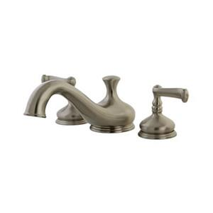 Elements of Design Hot Springs Satin Nickel Roman Tub Filler