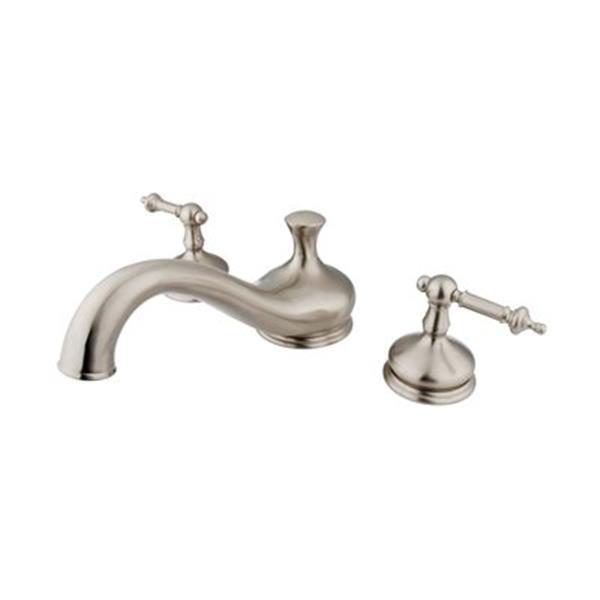 Elements of Design Hot Springs Satin Nickel Roman Tub Filler