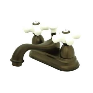 Elements of Design Chicago Bronze Centerset Faucet