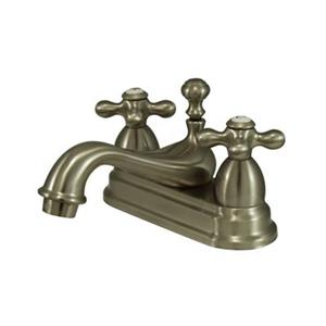 Elements of Design Chicago Nickel Centerset Faucet