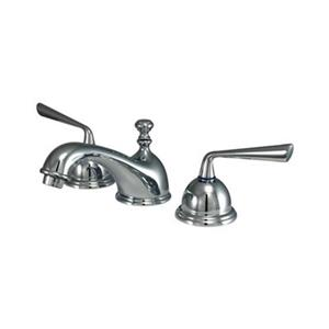 Elements of Design Widespread Chrome Lavatory Faucet