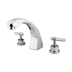 Elements of Design Concord 7.5-in Chrome Roman Tub Filler