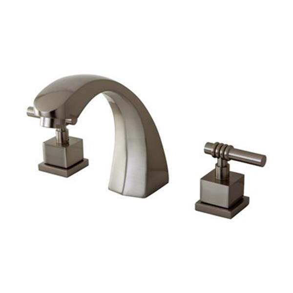 Elements of Design Milano 7.5-in Satin Nickel Roman Tub Filler