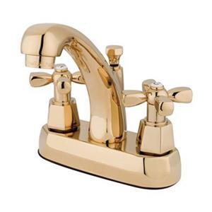 Element of Design Metropolitan Polished Brass Centerset Faucet