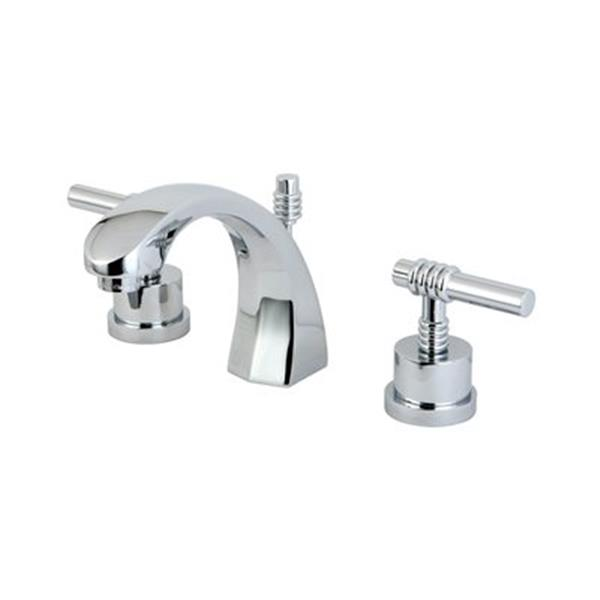 Elements of Design Milano Chrome Widespread Faucet