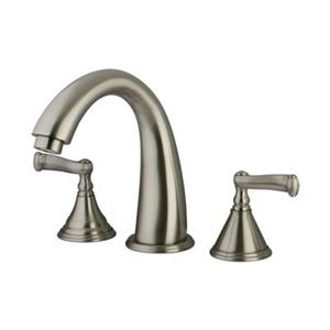 Elements of Design Atlanta 8.4-in Satin Nickel Roman Tub Filler
