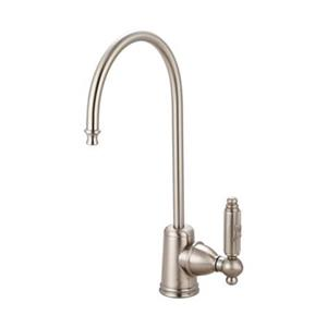 Elements of Design Georgian Water Filtration Chrome Kitchen Faucet