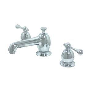 Elements of Design English Vintage Chrome Widespread Faucet