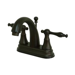 Elements of Design Normandy Oil Rubbed Bronze Centerset Faucet