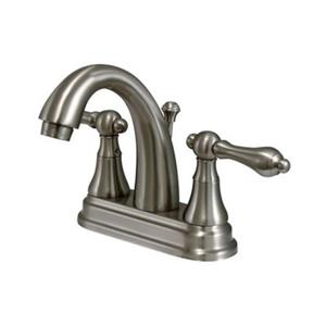 Elements of Design Elizabeth Nickel Centerset Faucet