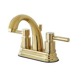Elements of Design Brass Two Handle Centerset Lavatory Faucet