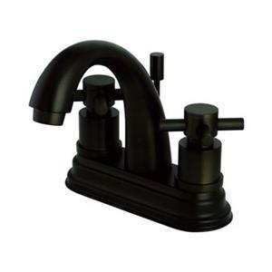 Elements of Design Oil Rubbed Bronze Two Handle Centerset Lavatory Faucet