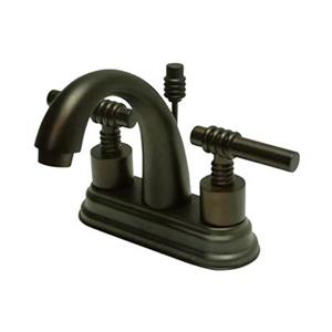 Elements of Design Oil Rubbed Bronze Deck Centerset Faucet