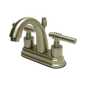 Elements of Design Nickel Deck Centerset Faucet