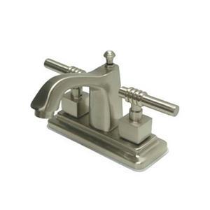 Elements of Design Milano Nickel Centerset Faucet