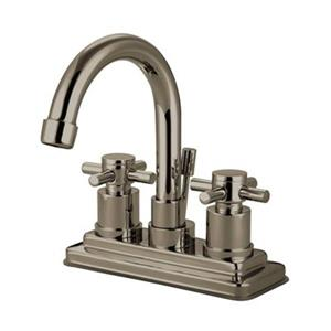 Elements of Design Nickel Two Handle Centerset Lavatory Faucet