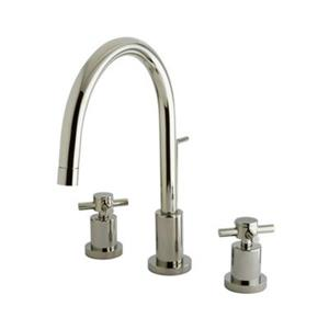 Elements of Design Nickel Two Handle Widespread Lavatory Faucet