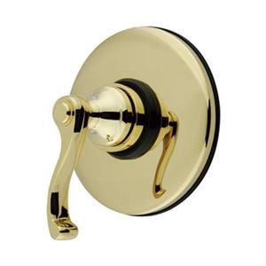 Elements of Design Polished Brass Shower Volume Control Trim